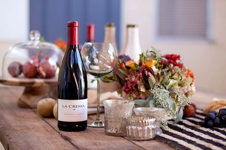 Fall Table Décor with La Crema Pinot Noir