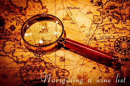 Navigating a wine list: Choose your own adventure