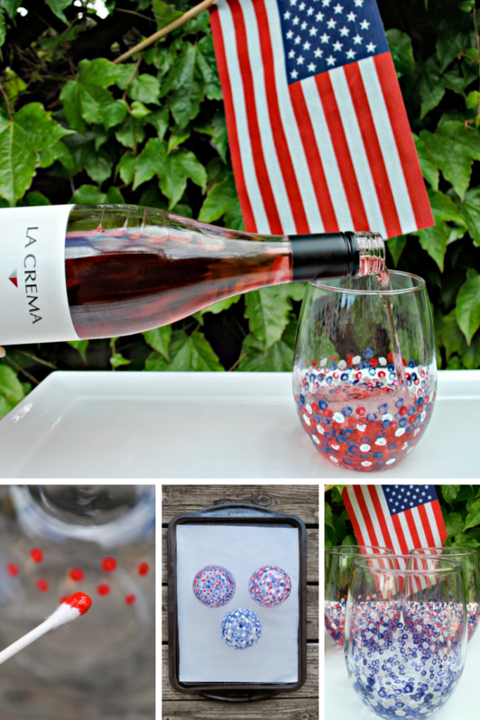 Confetti Wine Glasses: This easy-peasy DIY pairs perfectly with warm weather, a day on the lake, or outdoor dining on the patio.