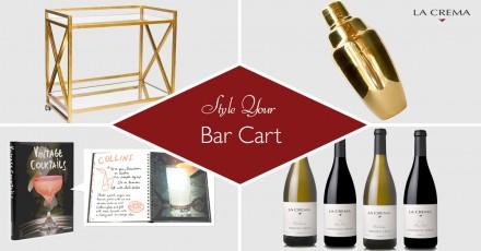 Bar Cart Styling