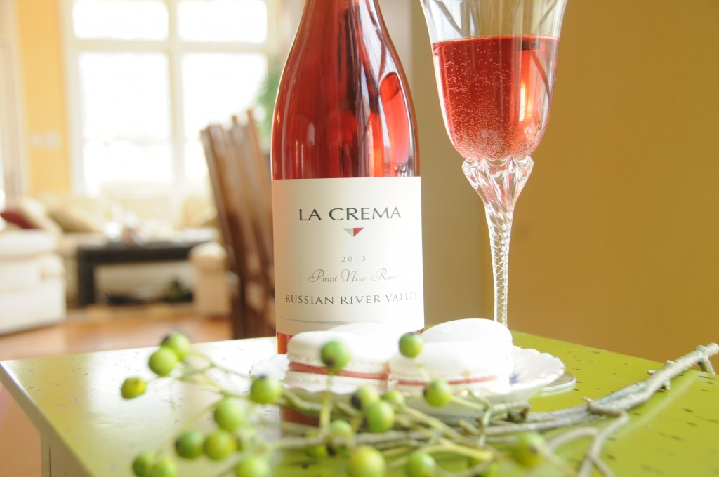 Terrifically versatile: Our Rosé is a great compliment to shellfish, Thanksgiving dinner, or delicate macarons