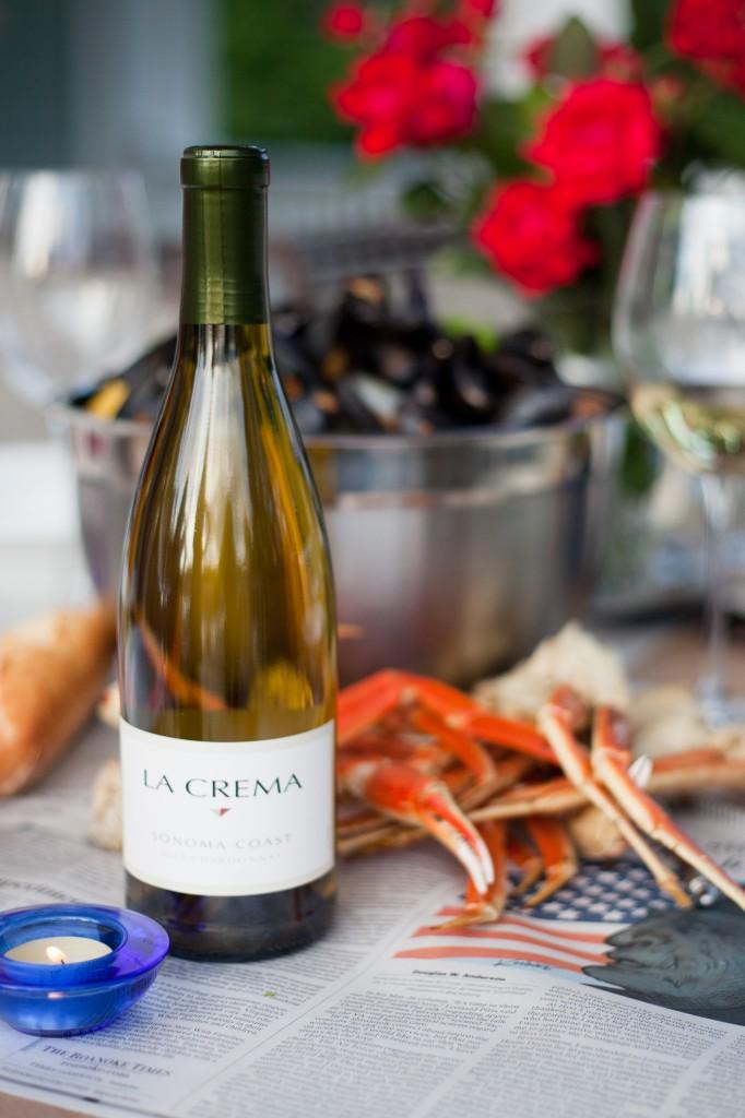 A seafood boil's perfect pairing: La Crema Sonoma Coast Chardonnay