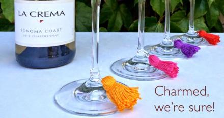 DIY Wine Charm Tassels