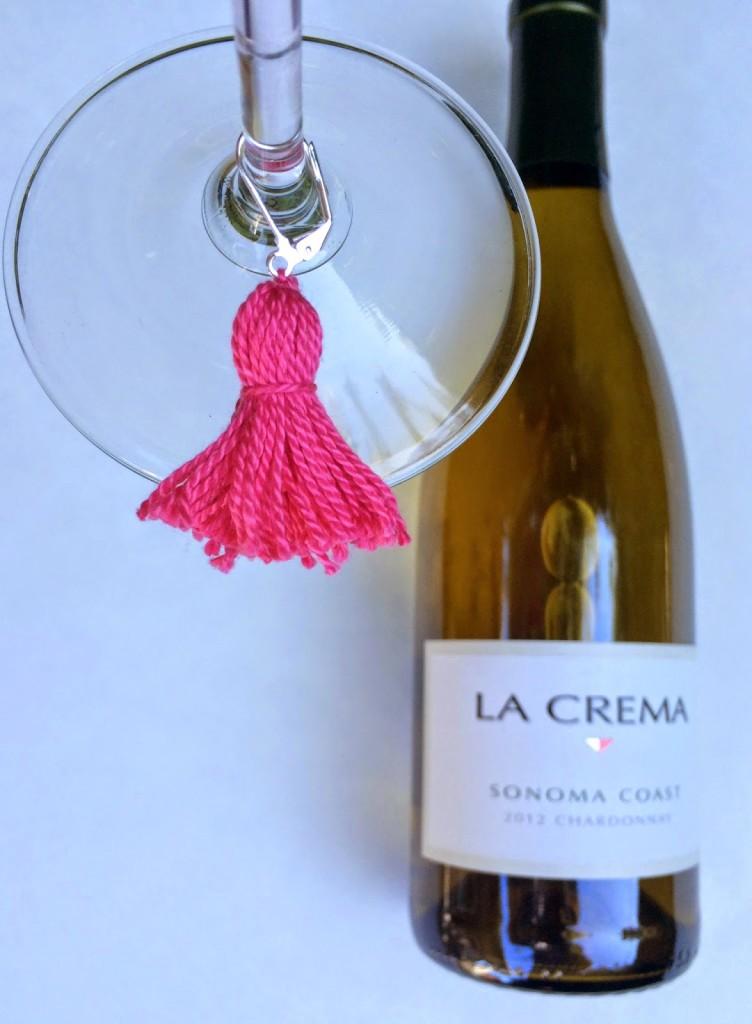 DIY Wine Charm Tassels.