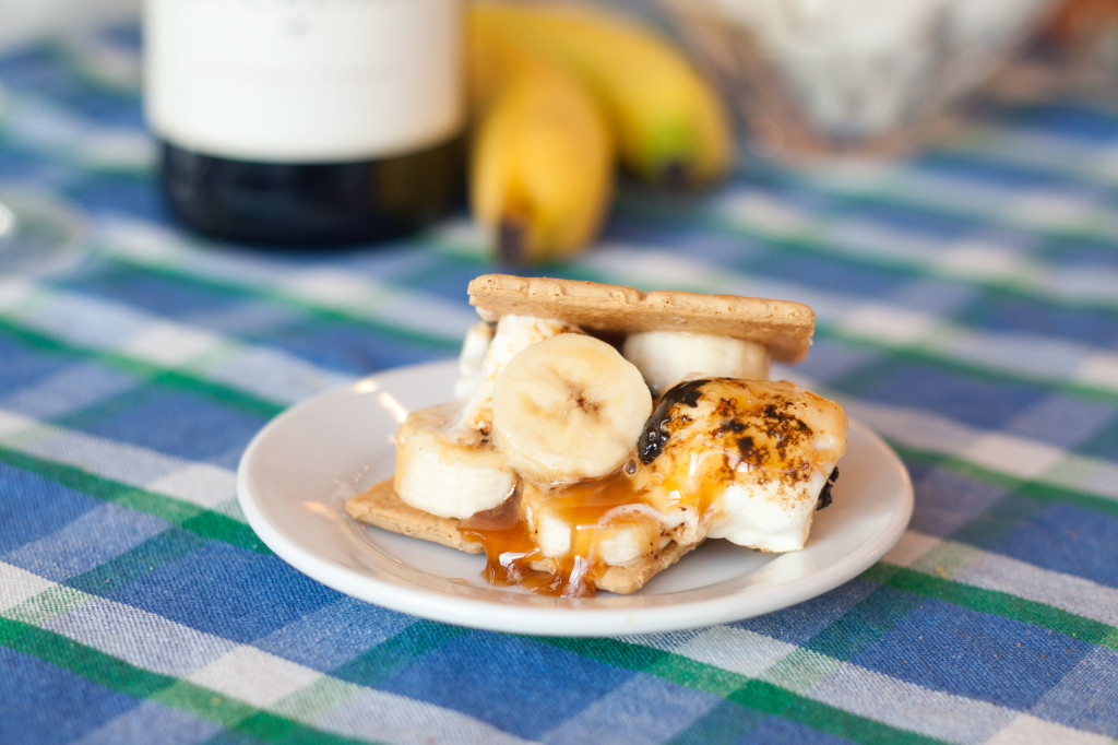 Bananas Foster S'more: You've gotta try this spin on the traditional campfire treat.