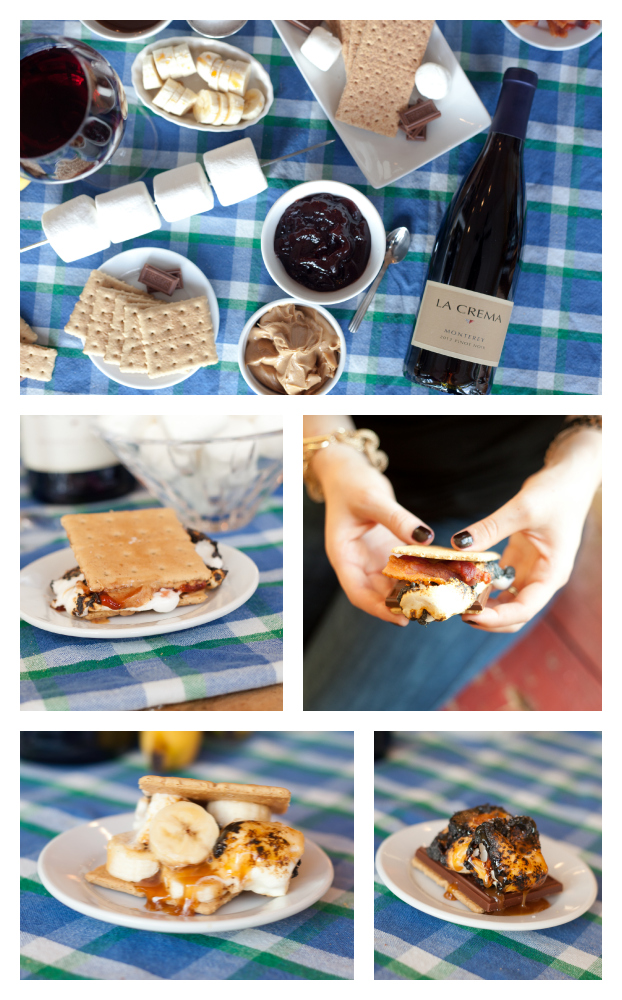 S'mores Collage