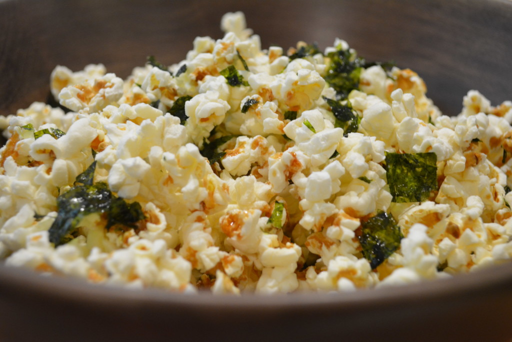 Her Majesty's Secret Foodservice. Movie night popcorn pairings. This Sushi Popcorn and 'You Only Live Twice'