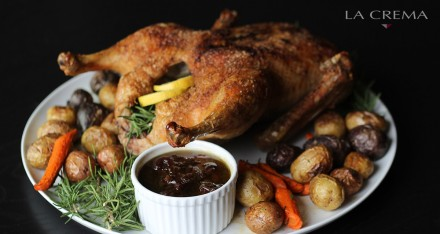 Fall Recipe: Roast Duck with Balsamic Reduction