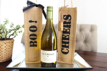 DIY Wine Bottle Bag (Video)