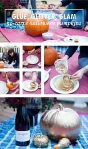 No-Carve Halloween Pumpkins