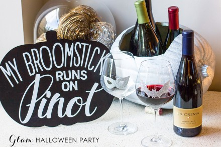 Glam Halloween Party