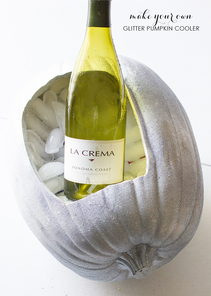 diy pumpkin wine cooler