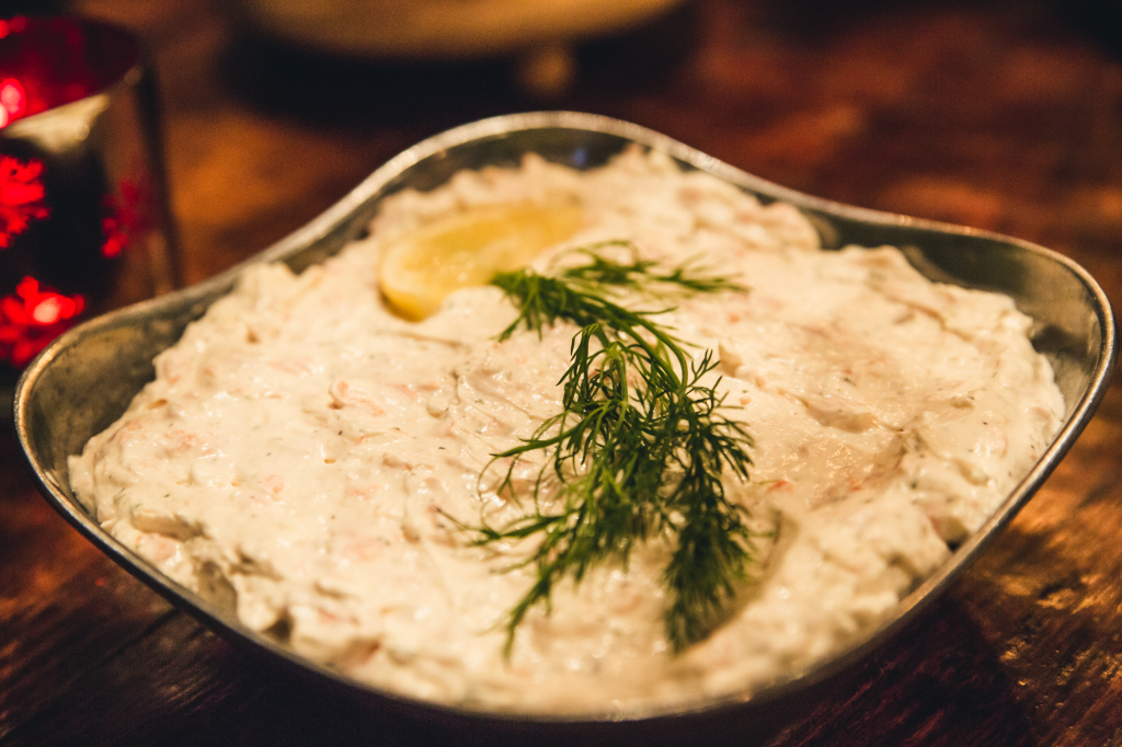 Seven fishes recipe smoked salmon and dill dip for Seven fishes recipe