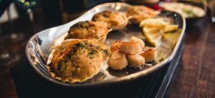 Feast of the Seven Fishes: Parmesan Baked Scallops