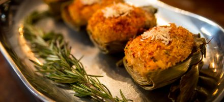 Feast of the Seven Fishes: Crab Stuffed Artichokes