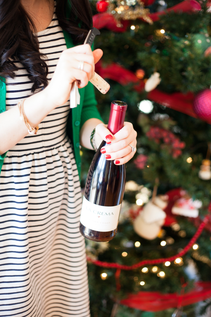 Our favorite DIYs are always ones that you can do with a glass of wine. So, pour yourself a glass of Pinot Noir (save that cork!) and plug in your hot glue gun.