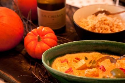 Vegetarian Thai Pumpkin Curry