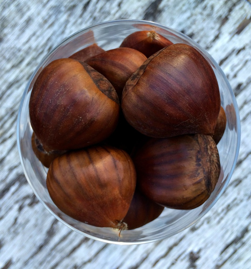 Chestnuts roasted on an open fire DIY gift idea