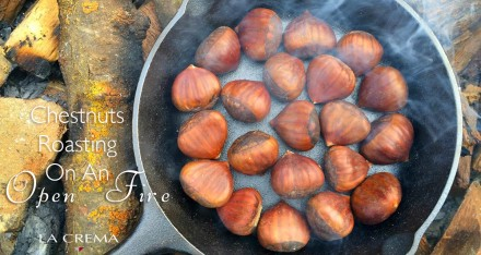 Chestnuts Roasted on an Open Fire