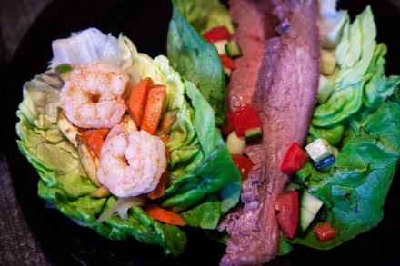A Thai-Inspired Surf and Turf Taco Tuesday Meal