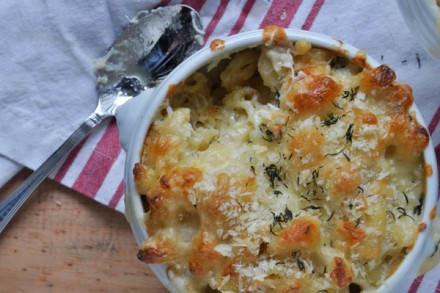 Dungeness Crab Mac and Cheese
