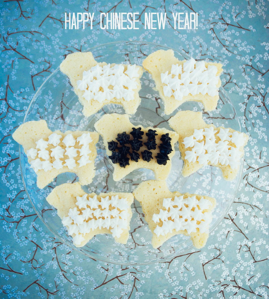 Chinese New Year: Year of the Sheep cookies