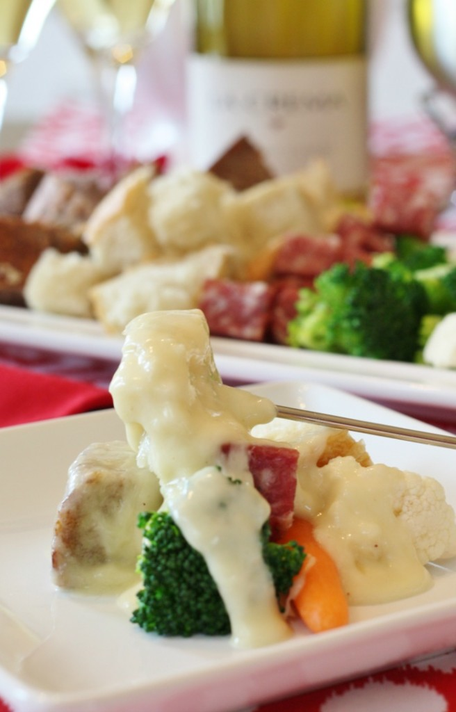 Cheese Fondue Plate