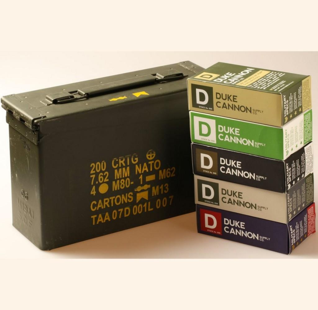 Duke Cannon gift pack