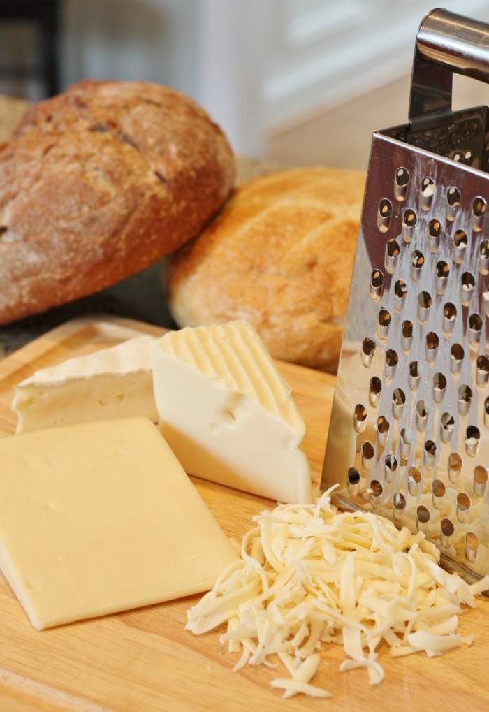 Shredded Cheese for fondue