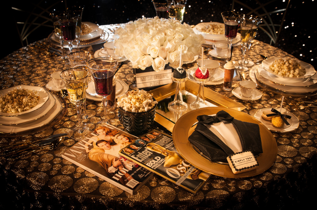 """And the Academy chooses..."" this award show tablescape!"