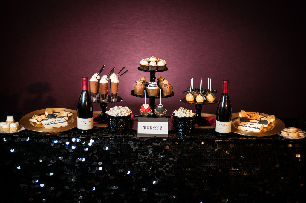 Hollywood Award Dessert Table