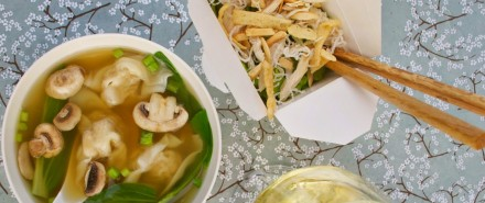 Easy and Festive Soup and Salad for Chinese New Year
