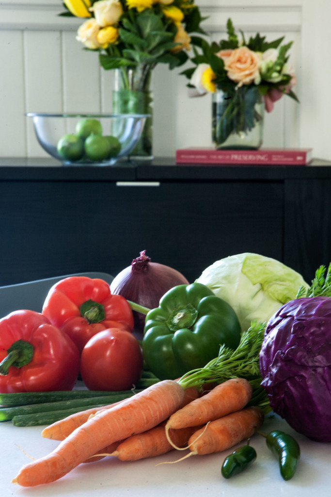 Choose Colorful Ingredients to Delight the Eye
