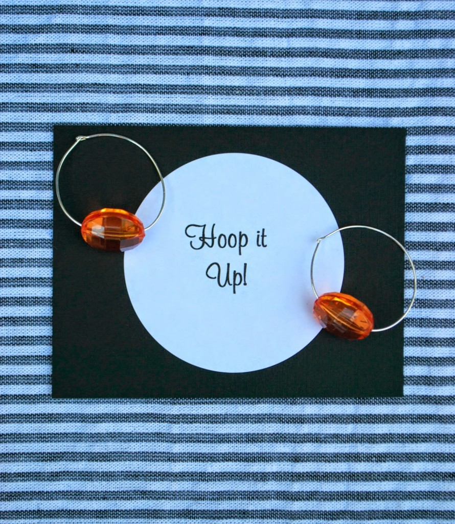 Hoop it up with this fun earring DIY