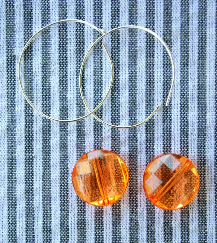 Hoop earring DIY items