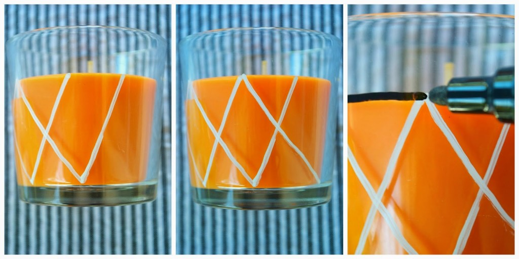 Easy and Fun Basketball Candle DIY