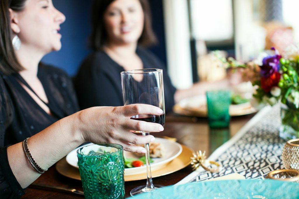 Good friends and good conversation are why you want to host a dinner party.