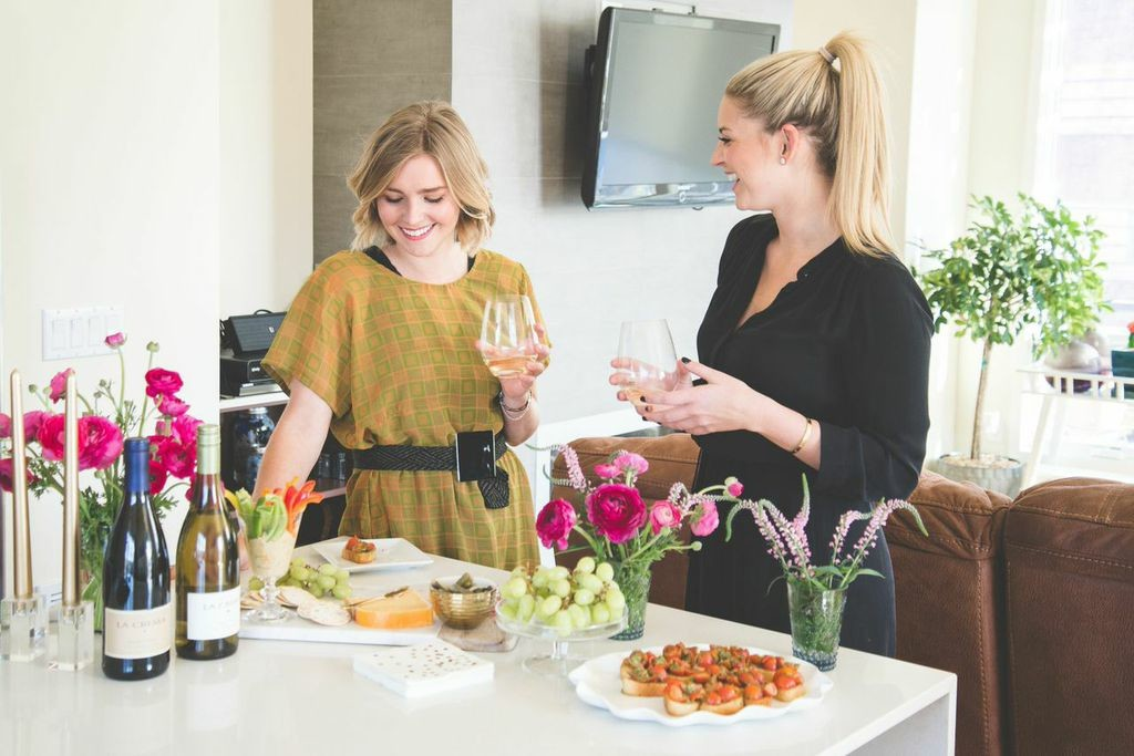 Tips for hosting a happy hour at home