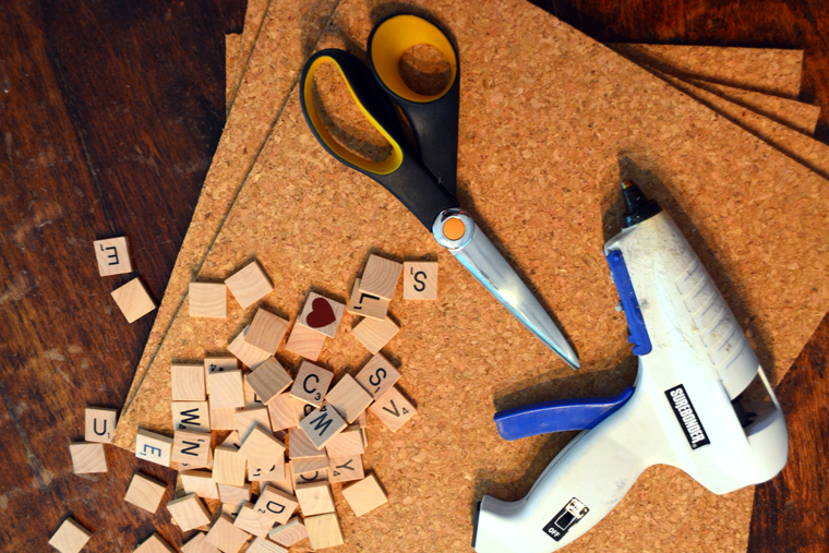 This DIY is easy and fun, all you need are these items and (maybe) a thesaurus