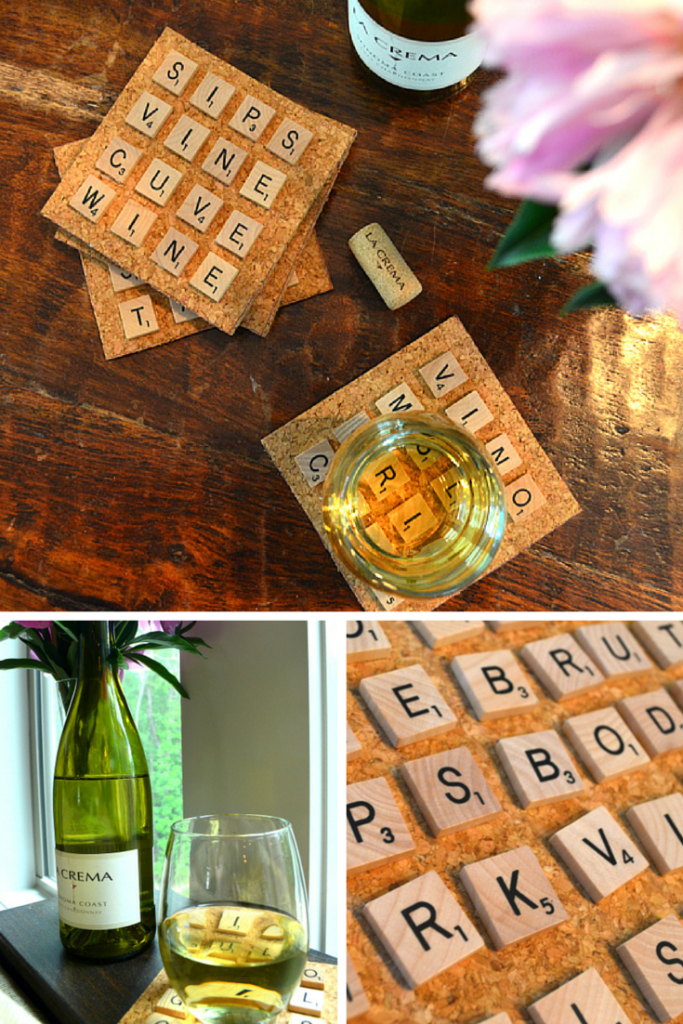 Warm up the glue gun and break out the Thesaurus. We've got a fun DIY inspired by our favorite beverage. Game on!
