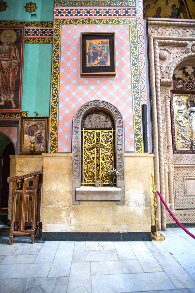 Saint Ninos Cross, Sioni Cathedral, Tbilisi