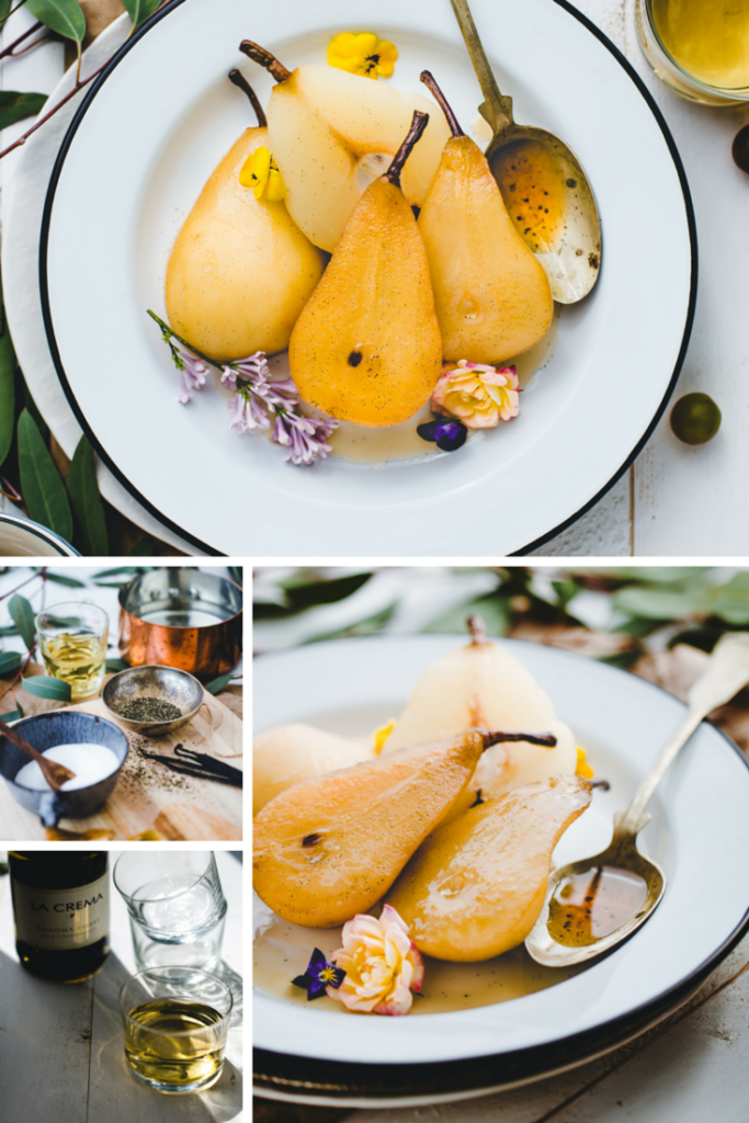 Can a dessert be decadent and healthy? It can if it's Jasmine White Wine Poached Pears. Check our the recipe from our friend, the #artfuldesperado