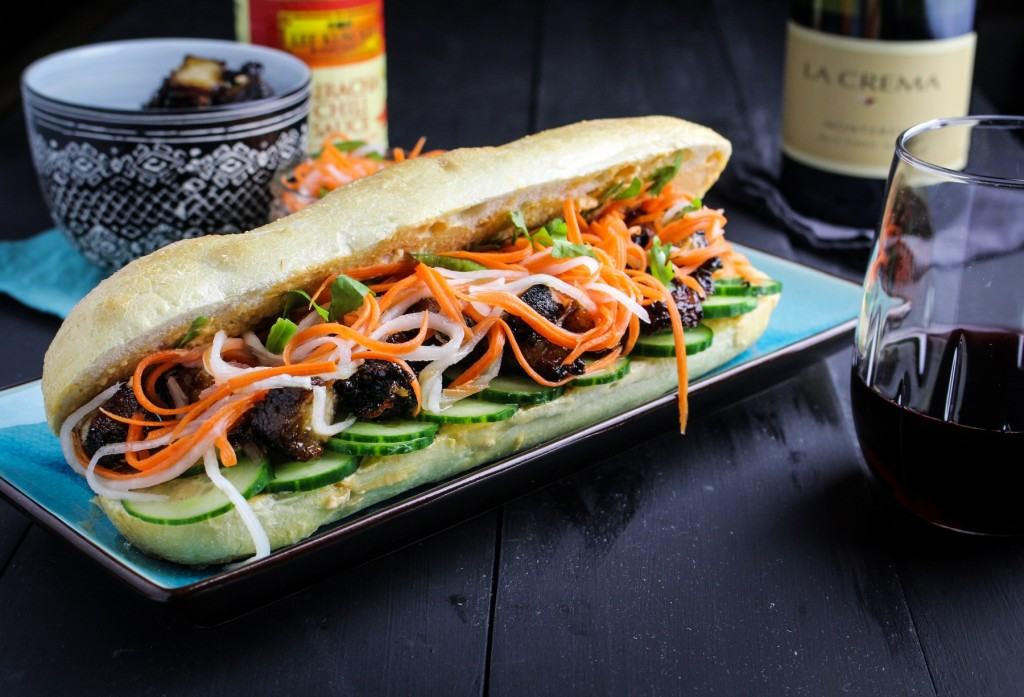 Pork Belly Bánh Mì Sandwiches - La Crema