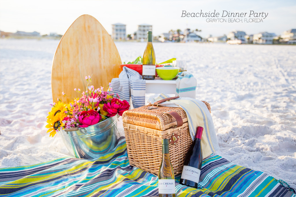 Beachside dinner party- this is an awesome menu set in gorgeous and picturesque grayton beach florida!