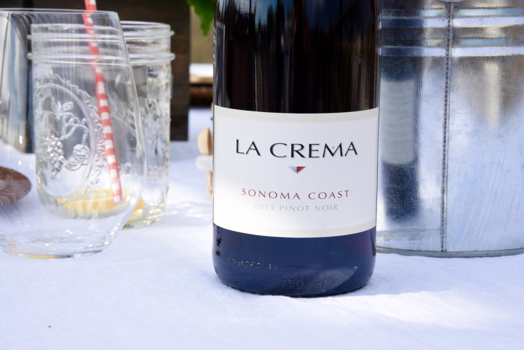 Rooftop entertaining tips: An easy summer-themed meal, topped off with La Crema wine, is the perfect way to entertain your guests.