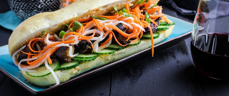 Pork Belly Bánh Mì Sandwiches - La Crema