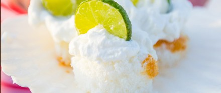 Four Ingredient Key Lime Shortcake