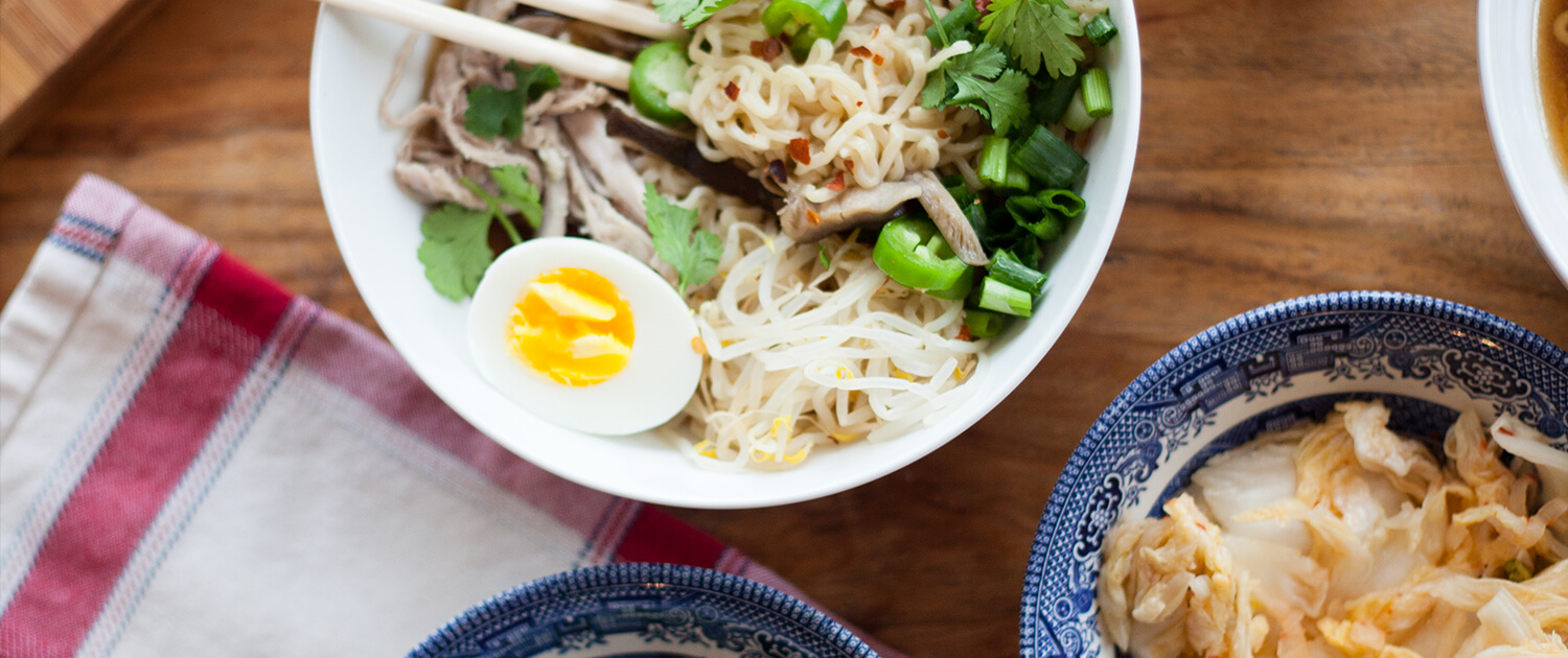 An Easy Homemade Ramen Recipe - La Crema