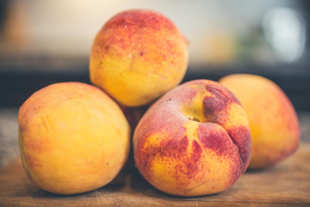 Summer Entertaining Simplified - peaches