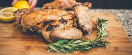 Summer Entertaining Recipes: Grilled Chicken with Gremolata